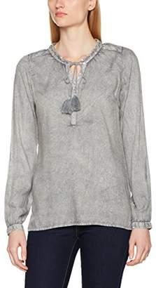 M.O.D. Women's AU17-BL230 Blouse, (Grey 243)