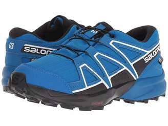 Salomon Speedcross CSWP (Little Kid/Big Kid) (Indigo Bunting/Sky Diver/White) Boys Shoes