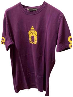 DSQUARED2 Purple Cotton T-shirts