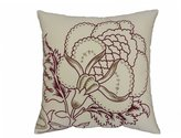 Waverly Imperial Dress Front Panel Embroidered Pillow