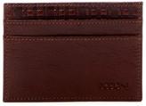 Boconi Boris Leather Clip Card Case