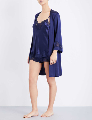 Nk Imode Morgan silk-satin and lace camisole