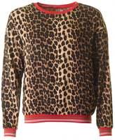 Saint Tropez Leopard Print Top