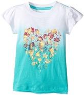 Hatley Sea Horse Heart Graphic Tee Girl's T Shirt