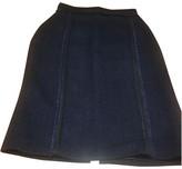 Carolina Herrera Purple Tweed Skirt for Women