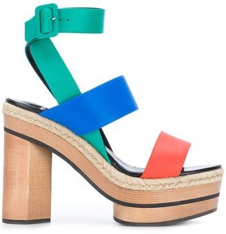Pierre Hardy Colourblock Sandals