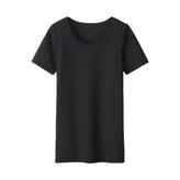 Uniqlo KIDS HEATTECH U neck S/S T shirt