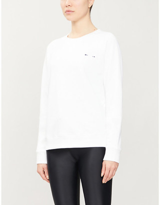 The Upside Bondi embroidered cotton-jersey sweatshirt
