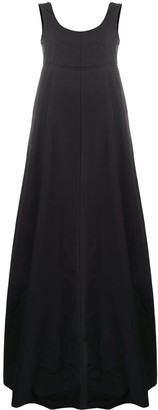 Plan C Sleeveless Flared Maxi Dress