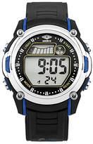 Umbro Black LCD Watch