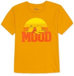 Disney Juniors' Winnie-the-Pooh Mood Graphic-Print T-Shirt