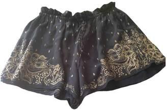 Etoile Isabel Marant \N Navy Silk Shorts