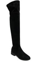 Bamboo Black Play Over-The-Knee Boot