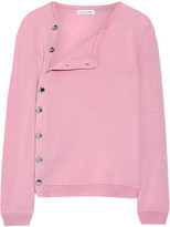 Altuzarra Minamoto Button-detailed Merino Wool Sweater - Baby pink