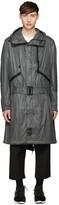 Y-3 Grey Nylon Mutable Jacket