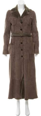 Giorgio Armani Shearling Long Cute