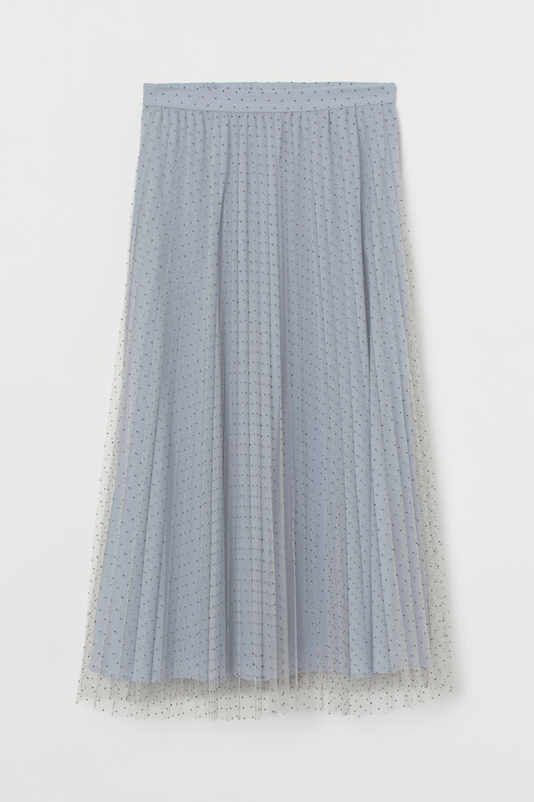 Thumbnail for your product : H&M Pleated tulle skirt
