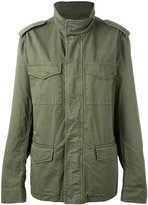 Tod's field jacket - women - Cotton/Polyester - L