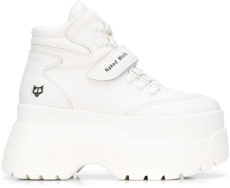 Naked Wolfe Platform Lace-Up Sneakers
