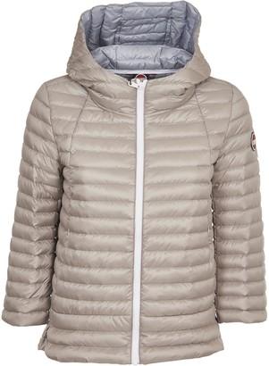Colmar Grey Down Jacket With Hood