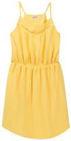 Ella Moss Elastic Waist Pleated Dress (Big Girls)