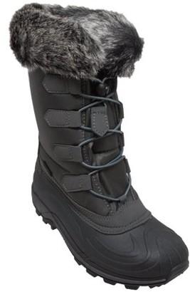 Winter Tecs Women's Nylon Winter Boots Grey