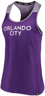 Möve Women's Fanatics Branded Purple Orlando City SC Made to Racerback Tank Top