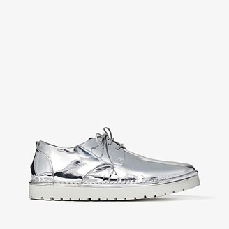 Marsèll Gomme Suede Lace-Up (Silver) Men's Shoes