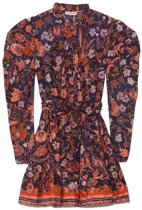 Ulla Johnson Naima Dress in Midnight Floral