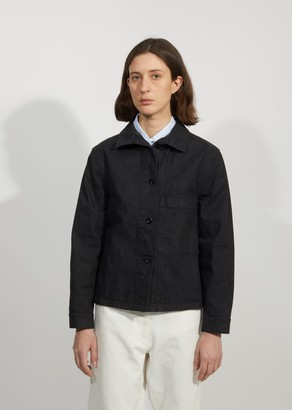 Mhl By Margaret Howell Stand Collar Cotton Jacket
