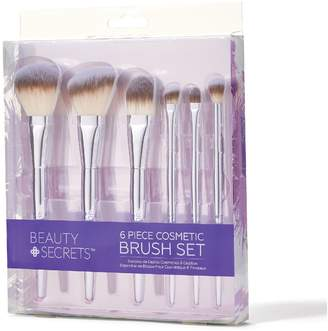 Beauty Secrets 6 Piece Cosmetic Brush Set