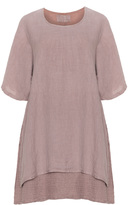 Grizas Plus Size Oversized layered linen top