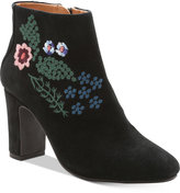 Nanette Lepore Nanette by Beverly Embroidered Booties
