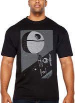 Star Wars Starwars Empire LInes Short Sleeve Graphic T-Shirt-Big and Tall