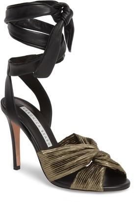Veronica Beard Calida Ankle Wrap Sandal