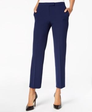 Kasper Petite Straight-Leg Dress Pants