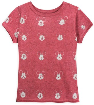 Disney Mickey Mouse Allover T-Shirt for Kids Sensory Friendly