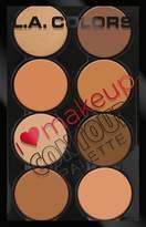 L.A. Colors I Heart Makeup Contour Palette
