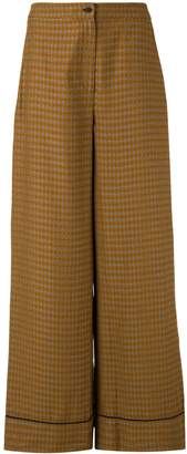LAYEUR Fitzgerald wide leg trousers