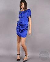 Foley + Corinna Silken Beaded Butterfly Dress