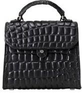 Liebeskind Berlin Glendale Croco Embossed Leather Mini Top-handle Bag.