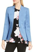 Vince Camuto One Button Split Lapel Blazer