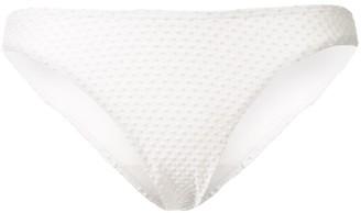 Peony Swimwear Embroidered Bikini Bottoms