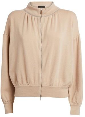 Fabiana Filippi Cashmere Zip-Up Jacket