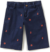 Brooks Brothers Little/Big Boys 4-20 Nautical-Embroidered Chino Shorts