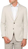 Canali Plain Half Lined Jacket