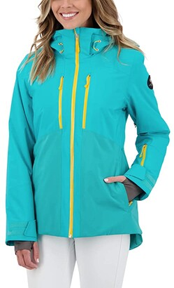 Obermeyer Cecilia Jacket (Off Tropic) Women's Clothing