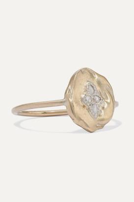 Pascale Monvoisin Hayett 9-karat Gold Diamond Ring