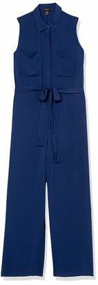 Forever 21 Women's Plus Size Belted Wide-Leg Jumpsuit
