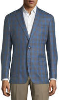 Peter Millar Marina Grande Windowpane Sport Coat